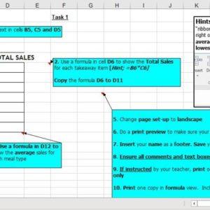 Basic Formulas, Basic Functions, N4 Admin & I.T, Excel Spreadsheets