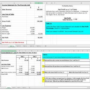 Profitability Ratios, Efficiency Ratios, Liquidity Ratios, N5 Accounting, Higher Business Management, FInance