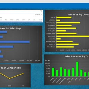 Example of an Excel Dashboard
